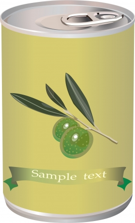 bank branch: green olives, olive branch and bank of olives isolated on white photo-realistic
