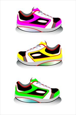 Sneakers Stock Vector - 15086285