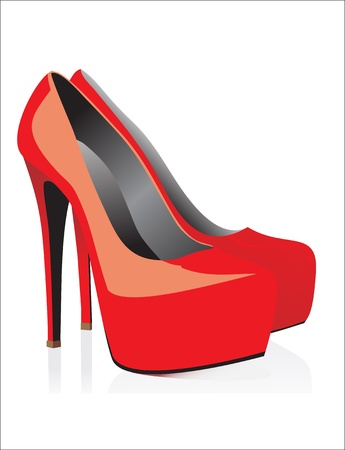 upmarket: sexy red shoes