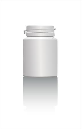 pill bottle: Pill Bottle, concept for Healthcare And Medicine