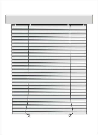 coverings: A venetian blinds  vector illustration