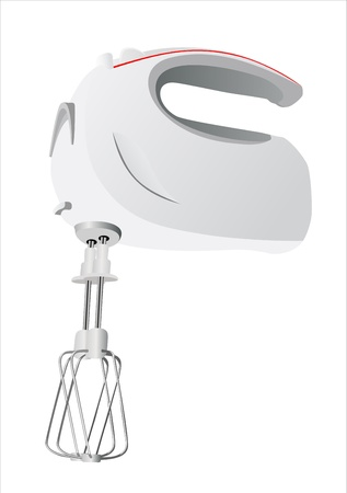 Kitchen hand mixer vector Stock Vector - 15995239