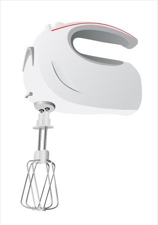 beater: Kitchen hand mixer vector