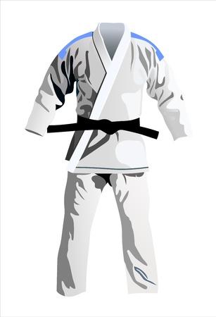 kimono Ilustração