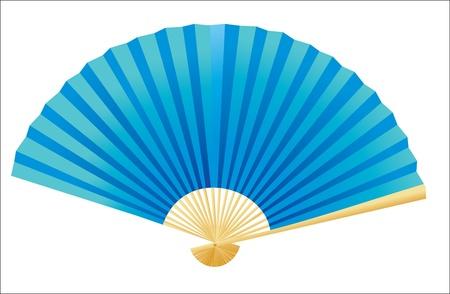 Folding fan  Vector  Stock Vector - 16391961