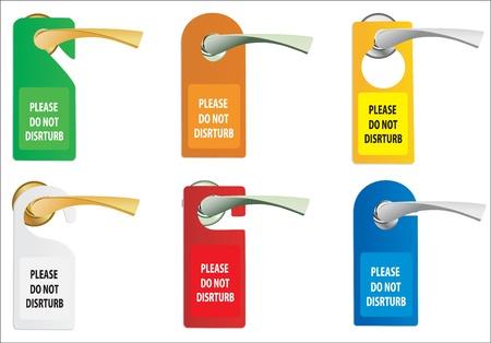 or not: Door knob or hanger sign - do not disturb