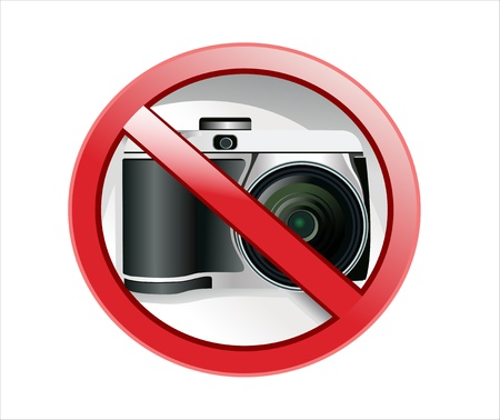 No photography sign Stock Vector - 17207271