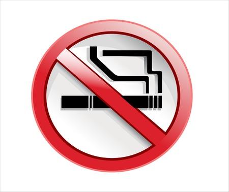 Do not smoke sign Illustration