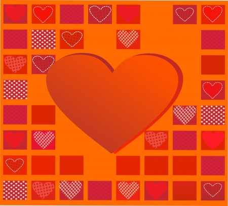 Abstract Romantic Background Valentin e s day Vector