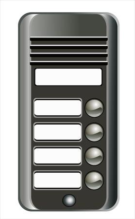 intercommunication: Intercom doorbell panel