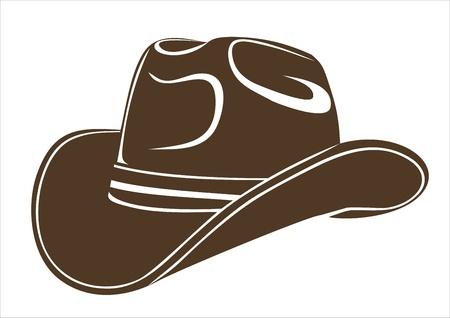 Cowboy-Hut Standard-Bild - 17483914