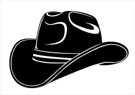 Cowboy-Hut Standard-Bild - 17483908