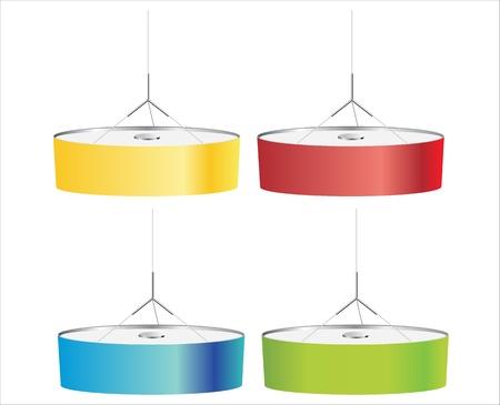 modern hanging lamp Stock Vector - 17483966
