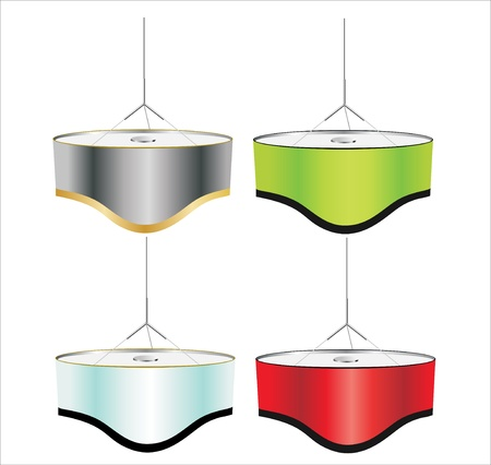 modern hanging lamp Stock Vector - 17483972