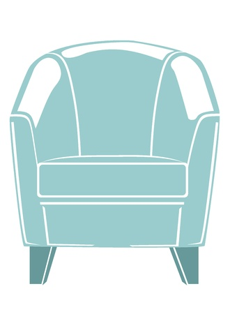 lounge chair Stock Vector - 17753199