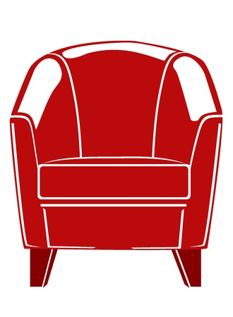 lounge chair Stock Vector - 17752214