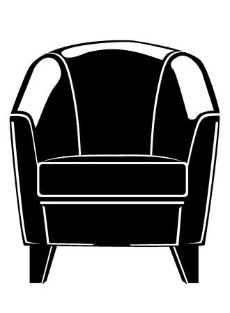 lounge chair Stock Vector - 17752197