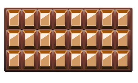 Chocolate Background With Stock Vector - 17751917