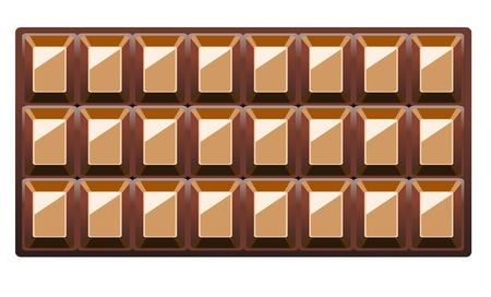 chocolate box: Chocolate Background With