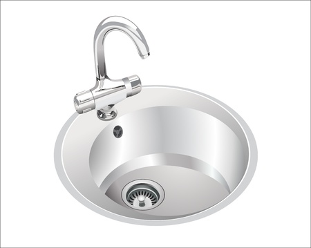 plating: kitchen sink Illustration