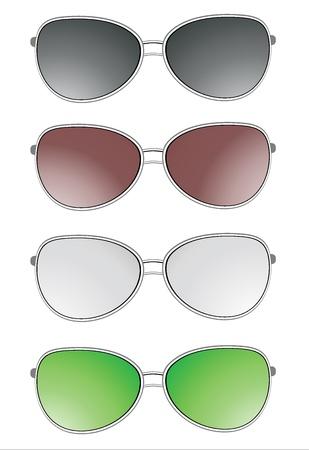 glasses set Stock Vector - 18463847