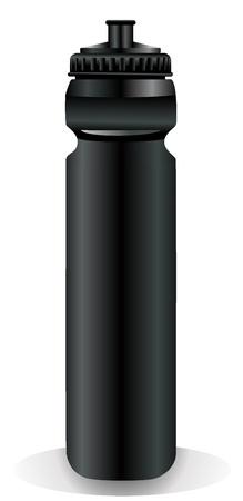 water supply: water drinking sport bottle