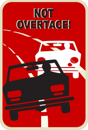 overtaking: Do not overtake