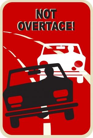 overtake: Do not overtake