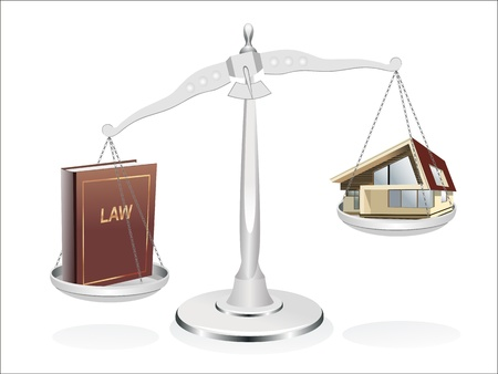 Protection of the rights of a private property, to pass the judgment