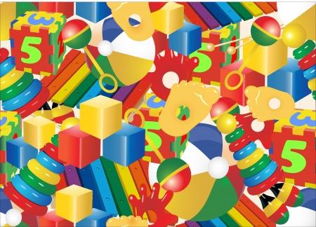 Seamless de jouets Banque d'images - 21172818