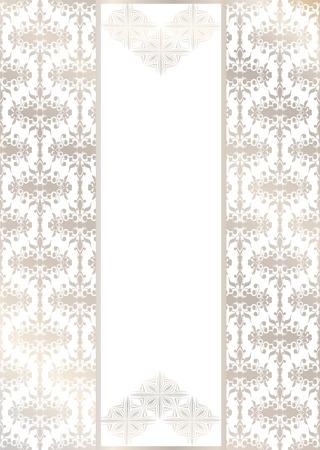 Elegant pattern on a seamless background  Original design Stock Vector - 21237247