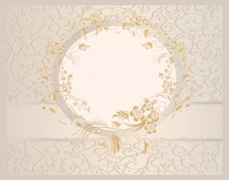 decoracion boda: Papel pintado incons�til de la vendimia con una cinta en tonos pastel