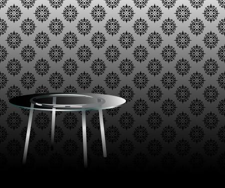 craquelure: table de papier peint Illustration