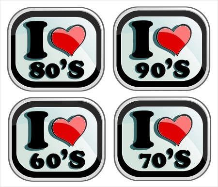 I love 60s,70s,80s and 90s