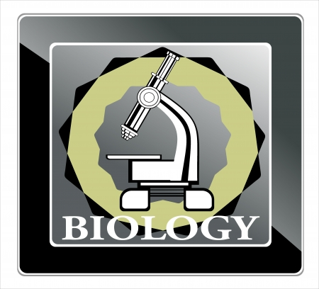 biology icon Stock Vector - 25032475