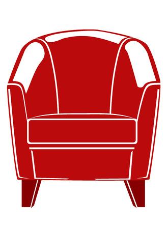 upscale: lounge chair