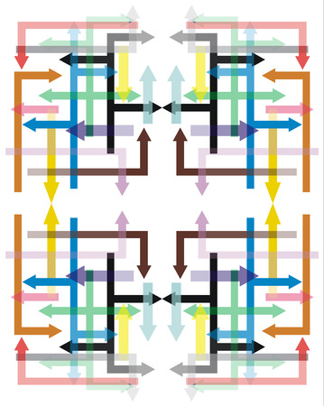 abstract illustration: Abstract illustrazione