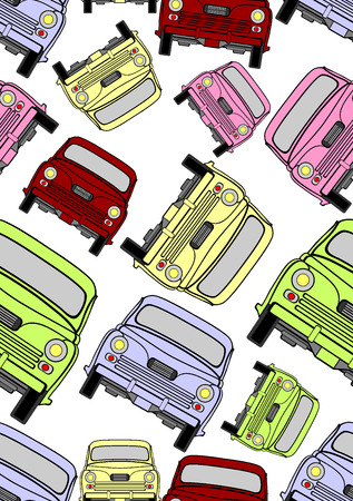 car pattern: seamless car pattern Illustration