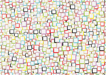seamless simple mosaic patterns Vector