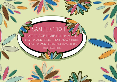 muted: floral seamless background