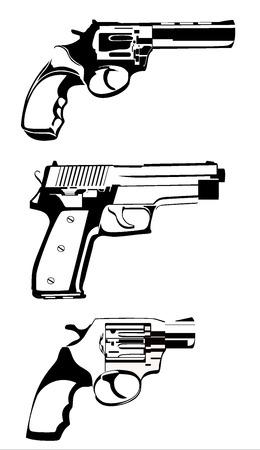winchester: guns collection - vetor