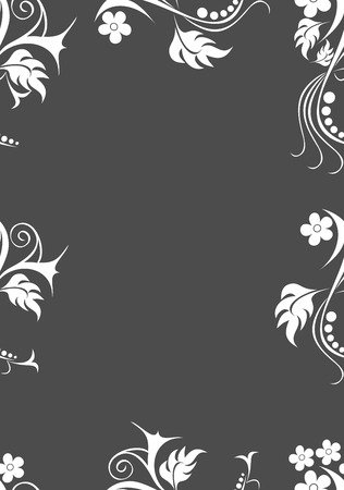 bedclothes: Seamless floral pattern illustration. Illustration