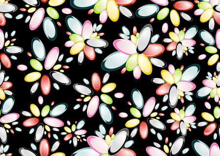 seamless background: floral seamless background