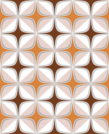repeats: retro seamless abstract geometric pattern