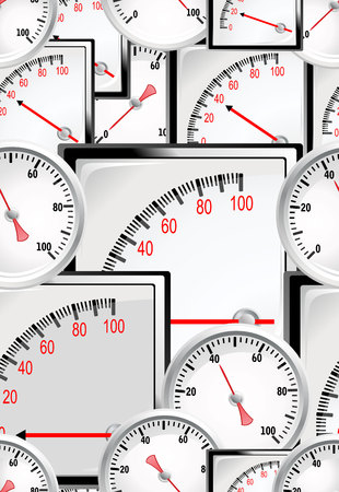 manometer: seamless wallpaper with special manometer