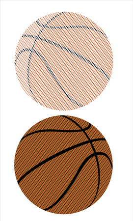 basket ball: basketball illustration