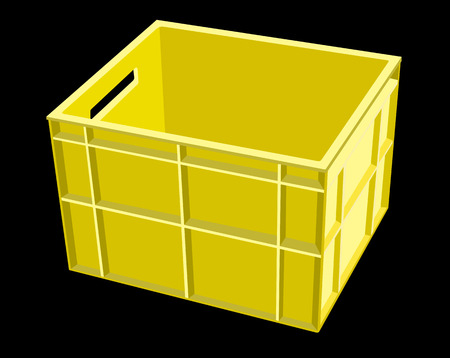 storage box: plastic storage box