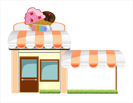 candy store: Candy Store Illustration