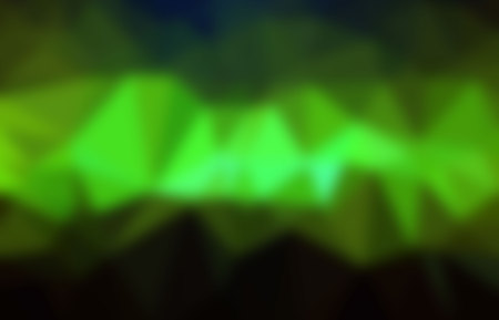 brilliancy: illustration on blurry green abstract background.