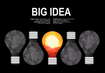 iq: Flat design illustration concepts for big idea, marketing, brainstorming, business, analysis, company strategy, project management. Concept for web banner and promotional material. Illustration